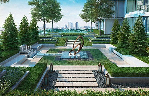 The-Esse-Asoke-Bangkok-condo-for-sale-garden